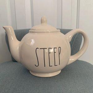 Rae Dunn STEEP teapot